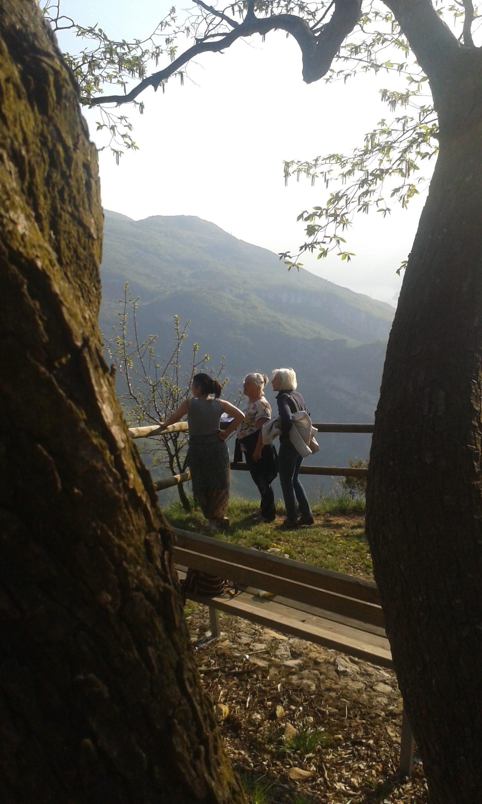 Doss alt, vista sul lago di Garda