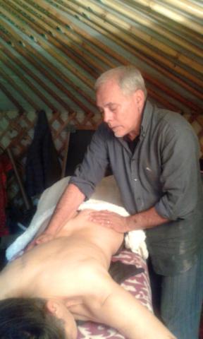 Lemniscata trasversale, massaggio delle correnti