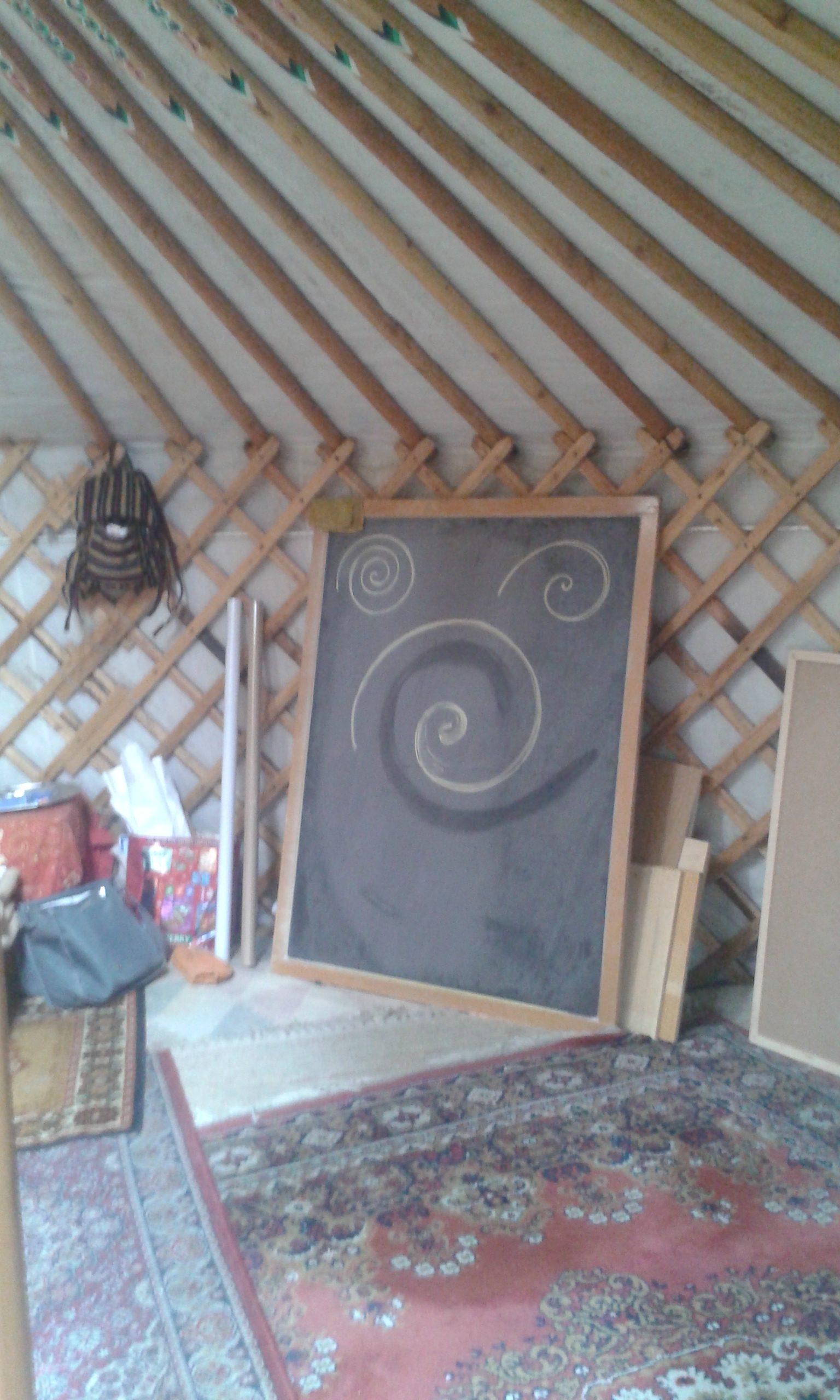 Disegno di forme, spirali